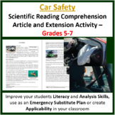 car safety worksheets teaching resources teachers pay teachers. Black Bedroom Furniture Sets. Home Design Ideas