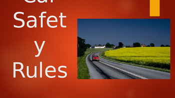 Car Safety Rules - Short Writing