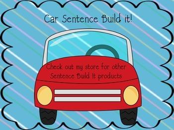 Car Sentence Build It