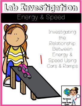 Car Speed & Energy Investigation Pack *FREEBIE*