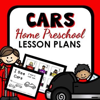 Car Theme Home Preschool Lesson Plans