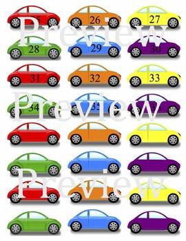 Car Themed Attendance Center & Self-Assessment
