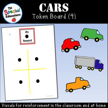 Car Token Board (4)