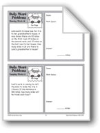 Car Trips (Grade 3 Daily Word Problems-Week 13)