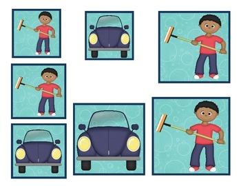 Car Wash Size Sorting