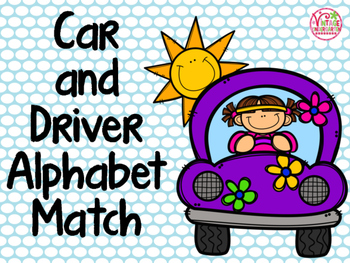Car and Driver Alphabet Match