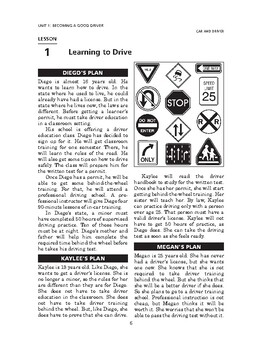 Car and Driver: Becoming a Good Driver-Learning to Drive