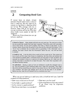 Car and Driver: Buying a Car-Comparing Used Cars
