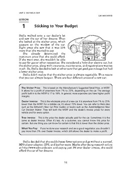 Car and Driver: Buying a Car-Sticking to Your Budget