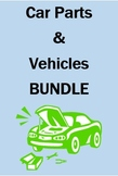 Car Parts and Vehicles in Portuguese Bundle