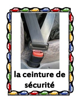 Car parts in French Posters