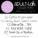 Cara Carroll Fonts: Adult-ish Collection