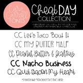 Cara Carroll Fonts: Cheat Day Collection