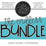 Cara Carroll Fonts: Endless Bundle
