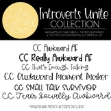 Cara Carroll Fonts: Introverts Unite Collection