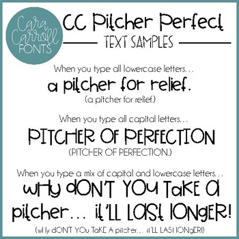 Cara Carroll Fonts: Sip Happens Collection