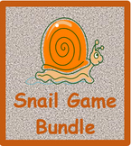 Caracol (Snail Game in Portuguese) Vocabulary Bundle