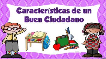 Caracterisiticas de un Buen Ciudadano- Good Citizen Traits
