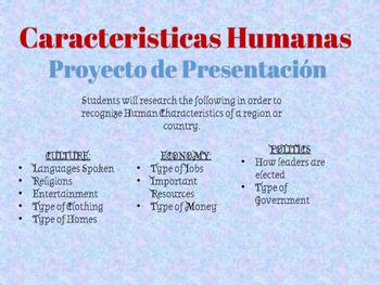 Caracteristicas Humanas Poster Project