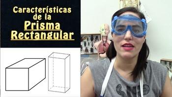 Caracteristicas de la prisma rectangular y cuadrangular - cuerpos geometricos