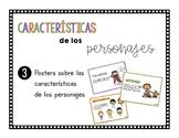 Características de los personajes