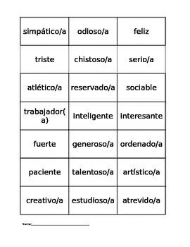 Caracteristicas de personalidad