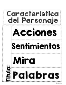 Caracteristicas del Personaje