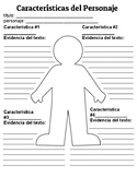 Caracteristicas del Personaje - Character Analysis -- Spanish