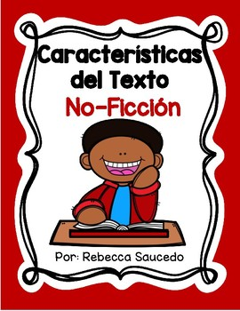 Características del Texto: No-Ficción (Non-Fiction Text Features Spanish)