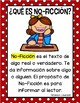 Características del Texto: No-Ficción (Non-Fiction Text Features Spanish)
