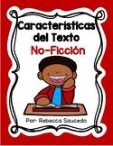 Características del Texto: No-Ficción (Non-Fiction Text Fe