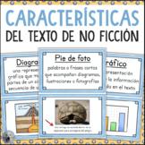 Características del texto de no ficción carteles SPANISH T