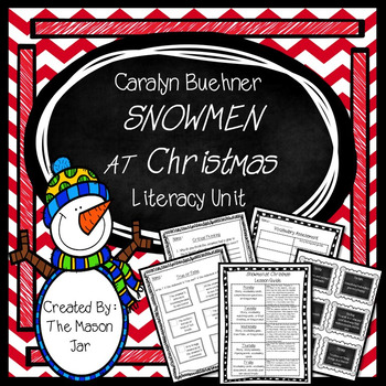Caralyn Buehner's - Snowmen at Christmas Winter Unit