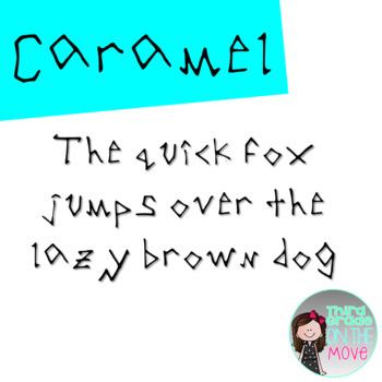 Caramel Font