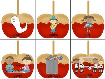 Caramel Apple Articulation: Initial G
