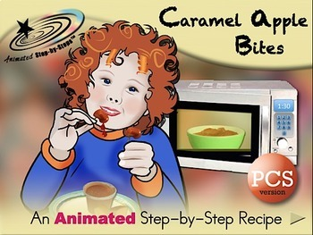 Caramel Apple Bites - Animated Step-by-Step Recipe PCS
