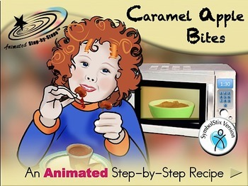 Caramel Apple Bites - Animated Step-by-Step Recipe - Symbol Stix