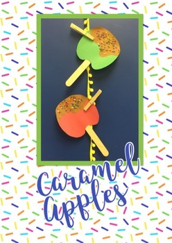 Caramel Apple Craft