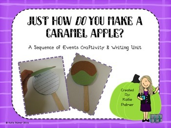 Caramel Apple Sequencing Activity