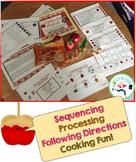Caramel Apples - receptive language activities