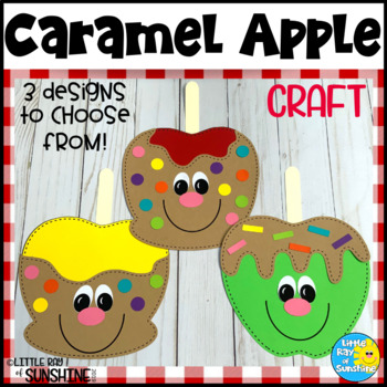 Caramel Candy Apple Craft for Fall