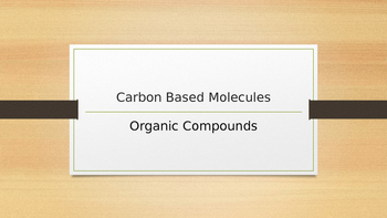 Carbon Based Molecule Vocabulary_Truncated