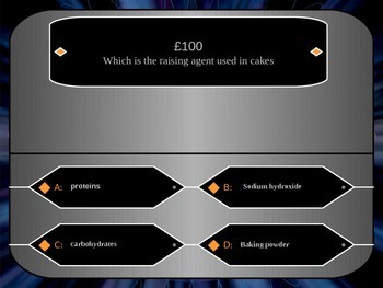 Carbon Chemistry Who Wants to be a Millionaire