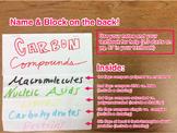 Carbon Compounds Foldable Instructions