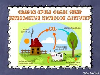 Carbon Cycle Comic Strip