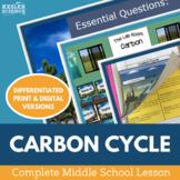 Carbon Cycle Complete 5E Lesson Plan