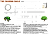 Carbon Cycle Crossword Puzzle