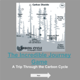 Carbon Cycle Virtual Digital Interactive Incredible Journey Game