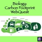 Ecology: Carbon Foot Print WebQuest