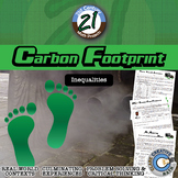 Carbon Footprint -- Environmental Multi-Step Inequalities Project
